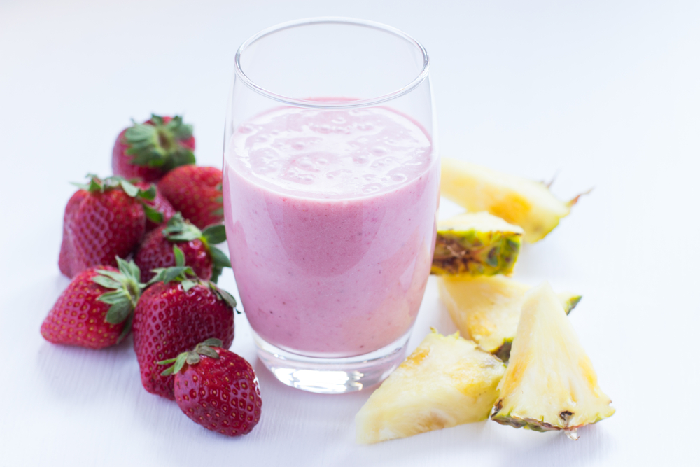 Pineapple Refresher Smoothie