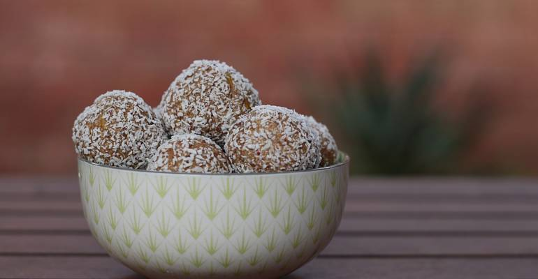 Coconut and Lime Energy Balls