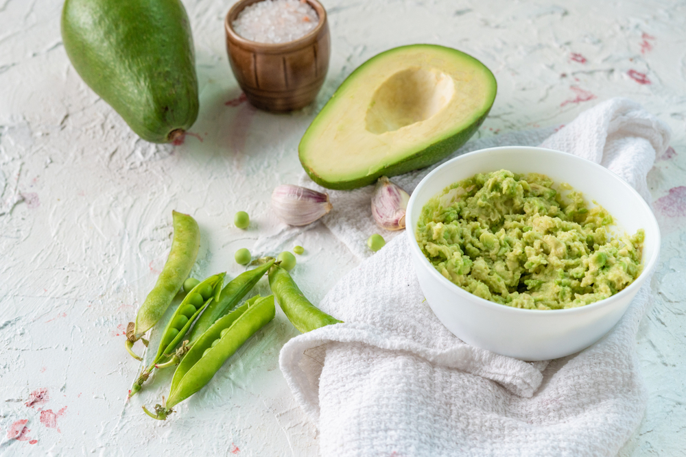 Avocado and Pea Dip