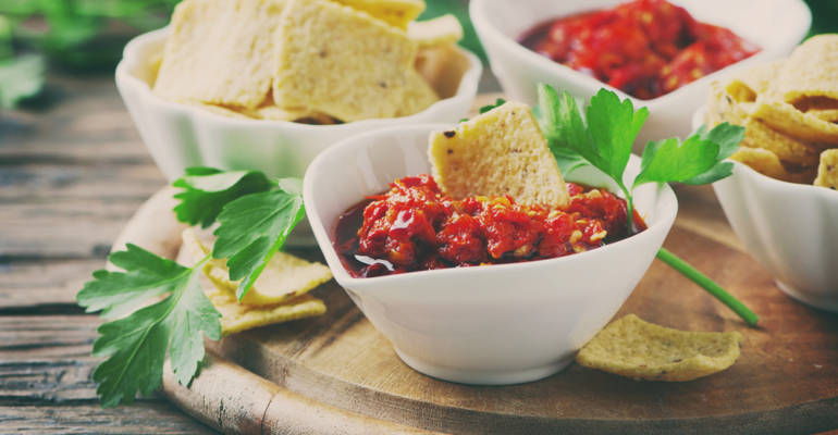Tomato and Kidney Bean Salsa